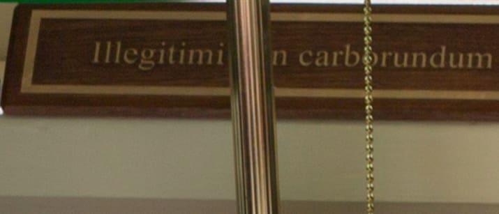 Illegitimi Non Carborundum
